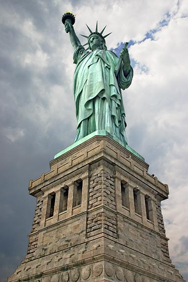 The Statue of Liberty was crowdfunded