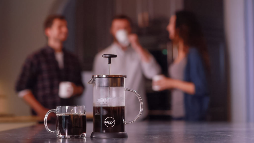 Osaka French Press on Kickstarter