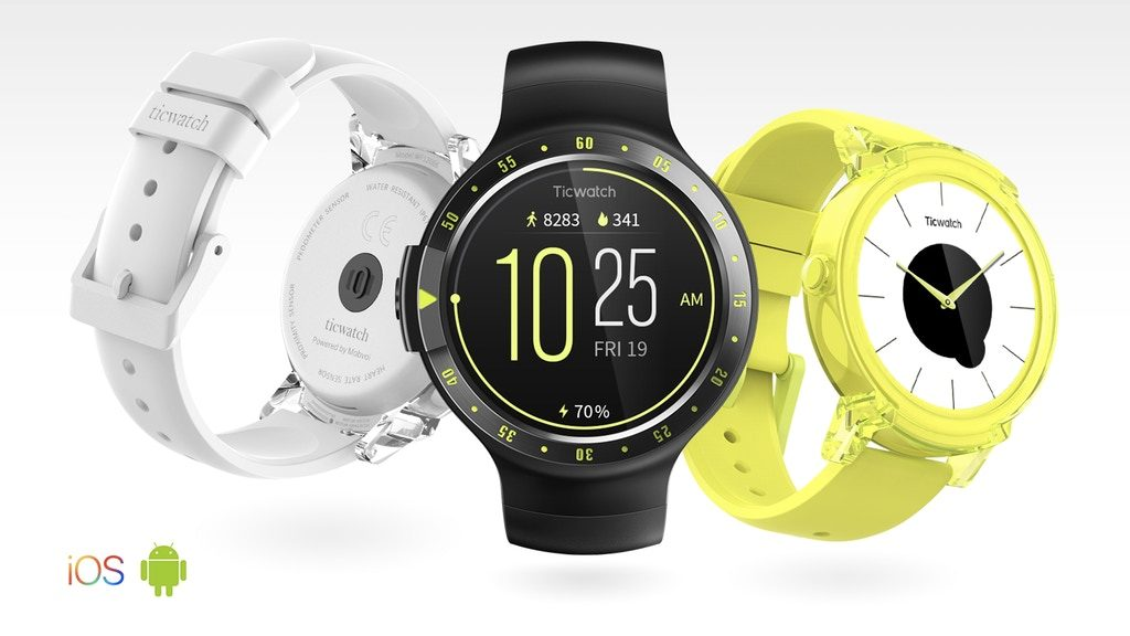 Ticwatch S & E Kickstarter