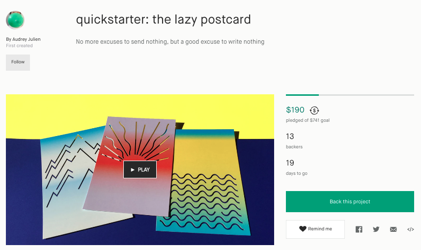 What is Quickstarter?