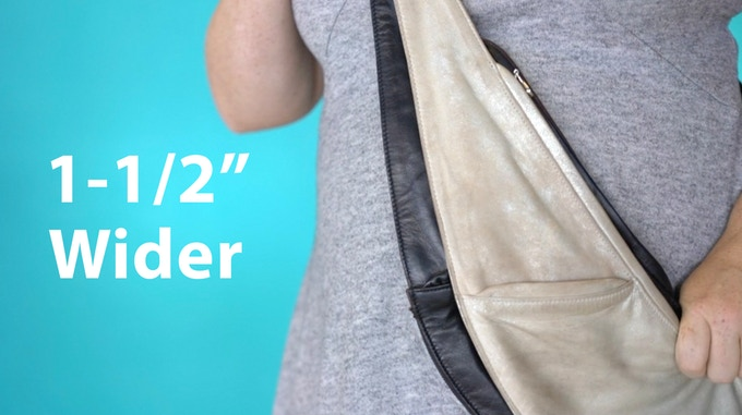 Expandable Sash Bag Kickstarter