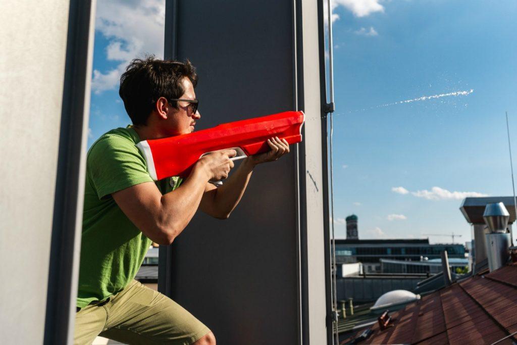 Spyra One Water gun Kickstarter