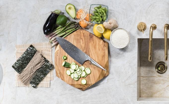 SHIROI HANA Knife Kickstarter