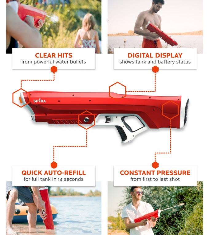 Sypra One Water Gun Kickstarter