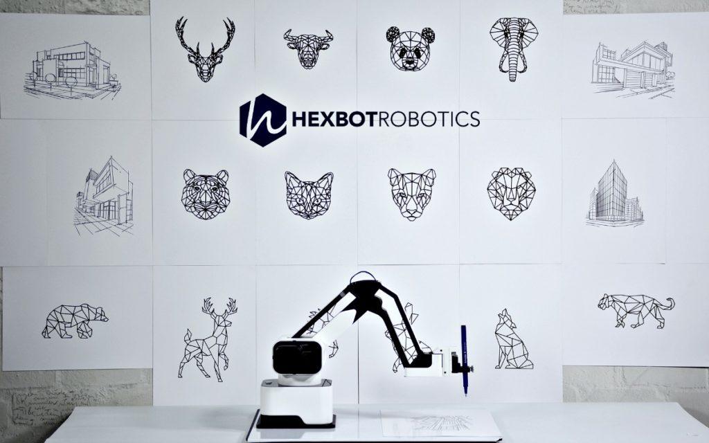 Hexbot Robot Arm Kickstarter