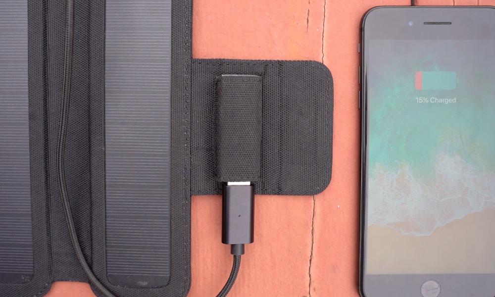 SolarCru Solar Panel Charger Kickstarter