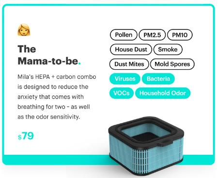 Mila Air Purifier Review Kickstarter